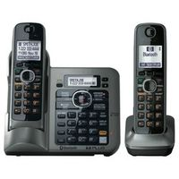 2 Handsets KX-TG7641 series DECT 6.0 link-to-cell Digital wireless phone Cordless Phone
