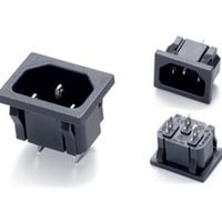 Fengyidz 10pcs/lot AC power Connector Industrial Plug IEC320 C14 3Pin Panel