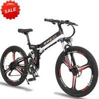HRTC 26inch electric mountain bike Anti-theft 48V li-ion battery Hidden in frame