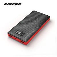Pineng 20000mAh Power Bank Ultrathin Portable External Battery Quick Charge Bateria