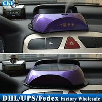 Free DHL Fedex 10pcs/lot Car Solar Car Air Purifier Car Aroma Of Anion Oxygen Bar