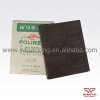 50 pcs/ lot Aluminium oxide, White Alumina Japan KOYO polishing abrasive cloth 1000#