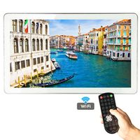 YAWATER 21.5 inch Android Smart Waterproof TV for Bathroom with Silver / Gold