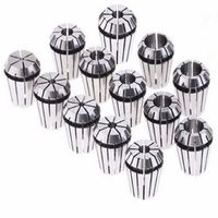 13pcs 1-13mm ER20 Spring Collet Set CNC Workholding Engraving Milling Lathe VEC56 T30