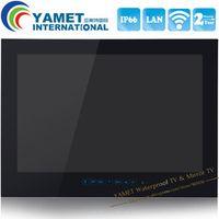 YAWATER Brand New 1080P Full HD 27 inch WiFi Andriod Smart Waterproof bathroom TV