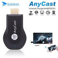 SINMAX Media Player TV Stick Push cast am8252Wifi Display Receiver Dongle Chrome