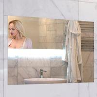 "AVEL 19"" waterproof Mirror TV for Bathroom Digital tuner DVB-T/T2 Freeview AVS190FS."