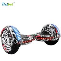 Daibot No tax 10 inch Bluetooth Hoverboard with LED Light Two Wheel Smart
