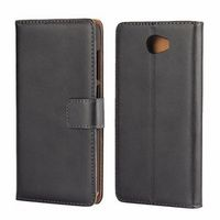 icovercase Cover For Huawei Y5 II Y5II Case Leather Wallet Flip Mobile Phone Shell