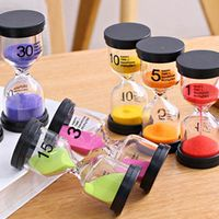wu fang 7 Coulors Home Decoration Desktop Sand Clock Timers