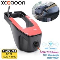 XCGaoon Wifi 170 degree Car DVR Video Recorder Camcorder Dash Camera 1080P Night