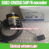 Nzluliyuan 1pcs E6B2-CWZ6C 50P/R for Omron 50 line optical