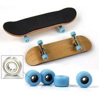 Kacakid Style Type Bearing Wood Material Finger Skateboard