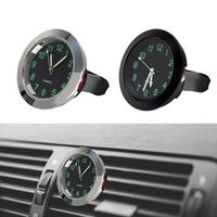 sikeo Air Vent Clip Clock Car Decoration Mini Quartz Mechanics Ornament Car-styling