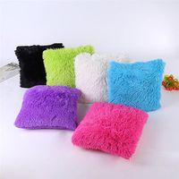 soft Pillow Case Waist Throw Cushion Cover Car interior relieve pressure dropshipping