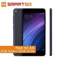 "Xiaomi Redmi 4A Snapdragon 425 Quad Core 2G RAM 16G ROM FDD LTE 4G 5"" 13MP MIUI 8.1"