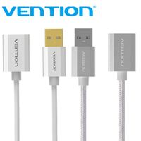 Vention USB2.0 Extension Cable Metal Male to Female High Speed USB Extension For PC