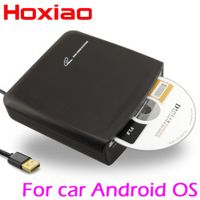 HoXiao Car DVD CD player connection USB use Install APP for Android 4.4 5.1 6.0 / 7.1