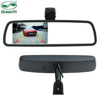 """GreenYi 4.3"""" TFT LCD Special Car Rearview Mirror Monitor with Original Bracket Video"""