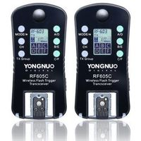 YONGNUO RF-605C RF-605 RF605 Wireless Flash Trigger with LCD for Canon 70D 60D