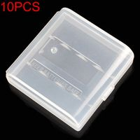 Soshine 10PCS Hard Plastic Case Holder Storage Box Container Cover for AAA Battery