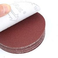 NaiSiTwoGirls 30pcs 7 inch 180mm Round sandpaper Disk Sand Sheets Grit Sanding