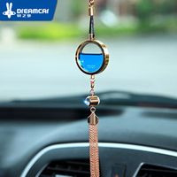Car perfume pendant hangings essential oil smell female male