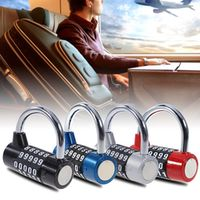 5 Digit Password Safety Lock Wide Shackle Combination Padlock Anti-Theft for Gate Bikes Toolbox Sports Bag Suitcase