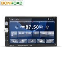 Bonroad 7023D 2DIN 7-inch Car MP5 HD Card Reader Radio MP5 Player Audio Stereo