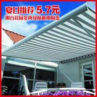 2 m x 3 m Sun balcony roof garden plant net shade sail