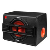 KROAK 1200W Active Trapezoidal Overweight Audio Subwoofer Modified High Power Speaker