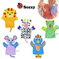 sozzy Cartoon Baby Toy Finger Puppets Hand Puppet Cotton
