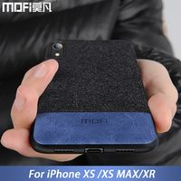 MOFi case for iPhone cover XR fabric protective silicone coque capas for iPhone
