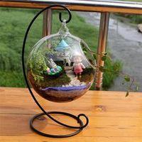 LanLan Ball Glass Aquarium Fish Tank Hanging Flower Pot
