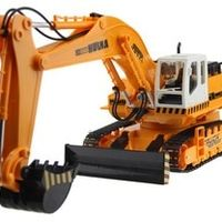 RC Excavator 11CH Electric Rc Remote Control Construction Tractor with Light wireless Remote Control Digger