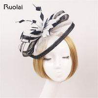 Ruolai Pretty Multi Color for Women Lady Hat for Wedding