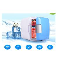 styling rundong 12V 4L Car Mini Fridge Portable Thermoelectric Cooler Warmer