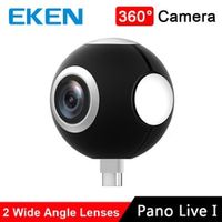 EKEN Dual Lens 360 Panoramic Camera Pano Live I for android smartphone