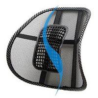 Mesh Lumbar Brace Car Seat Chair Massage Back Cushion Pad Support Home Office