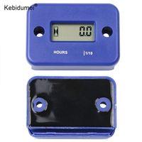 kebidumei Tachometer Waterproof Inductive Hour Meter LCD Display Digital for Bike