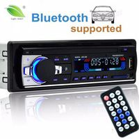Light heart autoradio 12V Car Radio Bluetooth 1 din car stereo Player AUX-IN MP3
