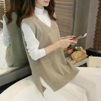 LuiseSandyHan Spring Autumn Wool Women Long Sections