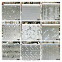 CAFELE Wide 45cm*Long 100cm Frosted Opaque Window Film