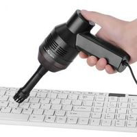 VBESTLIFE Portable Mini Handheld USB Keyboard Vacuum Brush For Laptop Cleaners