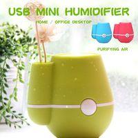 Vehemo Vase 220ml Mini Mist Maker Office Freshener Atomizer Perfume Aroma Diffuser