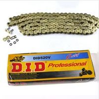 High Quality 520 120L Gold O Ring Drive Chain For road sport dirt bike crf yz TA