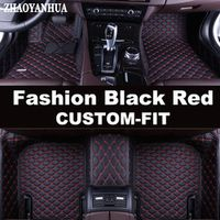 ZHAOYANHUA Custom fit car floor mats for BMW 3 series E46 E90 E91 E92 E93 F30 F31 F34