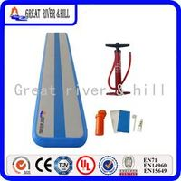 Inflatable Air Balance Beam inflatable Training Mat Air Tumbling Track GYM Mat 40cm wide x 500cm ft long x 10cm thick