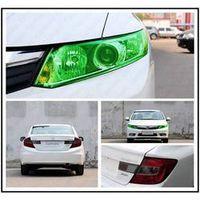 ONEWELL 100*50cm Auto Light Headlight Taillight Film Sticker Easy Stick Car