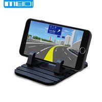 MEIDI Universal Soft Silicone Anti Slip Mat Desktop Car Phone Bracket For Samsung